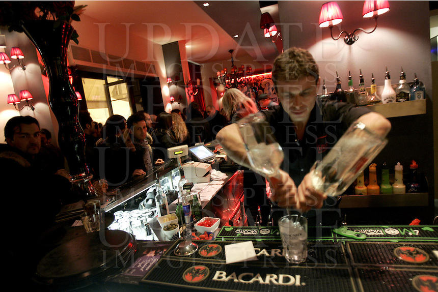 Il locale notturno Colle Bereto a Firenze<br /> Nightlife Colle Bereto in Florence.<br /> UPDATE IMAGES PRESS/Riccardo De Luca