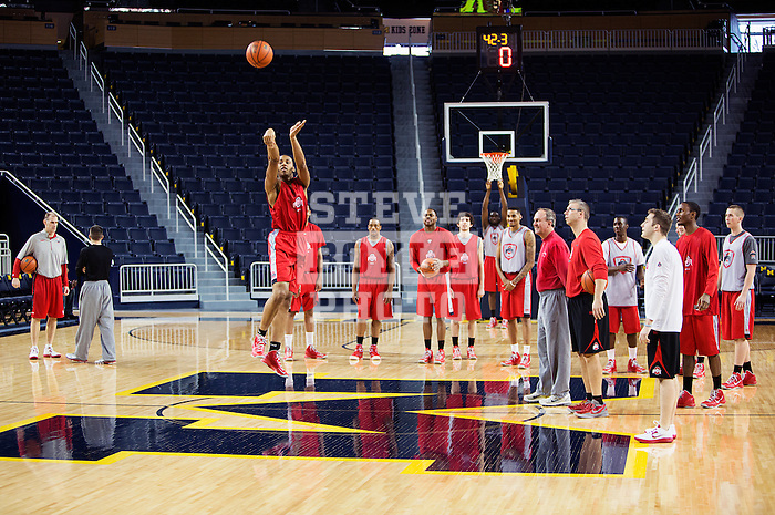 Trey McDonald half court shot