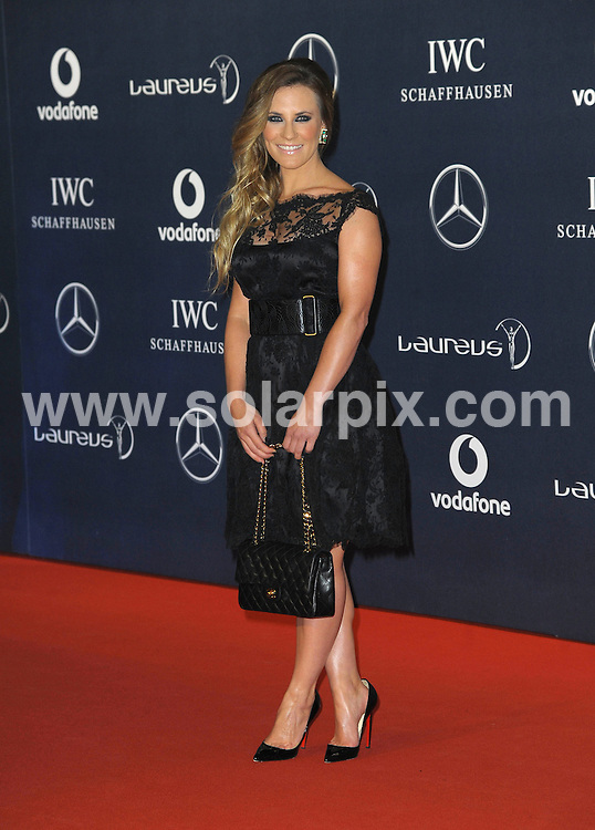 **ALL ROUND PICTURES FROM SOLARPIX.COM**                                             **WORLDWIDE SYNDICATION RIGHTS**                                                                                  Stars arrive at the Laureus World Sports Awards, held Central Hall, Westminster in London.  .This pic:   Georgie Thompson.JOB REF:     14445   MSR       DATE:  06.02.12                                                          **MUST CREDIT SOLARPIX.COM OR DOUBLE FEE WILL BE CHARGED**                                                                      **MUST AGREE FEE BEFORE ONLINE USAGE**                               **CALL US ON: +34 952 811 768 or LOW RATE FROM UK 0844 617 7637**