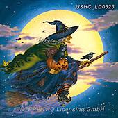 Liz,USHC,halloween,witch,pumpkin, paintings+++++,USHCLD0325,#x#