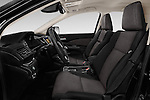 Front seat view of 2015 Honda CR-V Elegance 5 Door SUV Front Seat  car photos