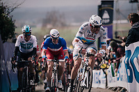 Alexander Kristoff  (NOR/UAE) in the first ascent up the Paterberg<br /> <br /> 102nd Ronde van Vlaanderen 2018 (1.UWT)<br /> Antwerpen - Oudenaarde (BEL): 265km