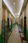 """Ground Floor Corridor Leading To Small Private Dining Rooms, HSBC Building In Qingdao (Tsingtao).  Butterfield & Swire Leased """"Ten Rooms, Two Lavatories And A Stationery Store"""" On The First Floor From 1922 Until 1926."""