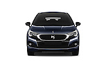 Car photography straight front view of a 2016 Ds DS-4-Crossback Sport-Chic 5 Door Hatchback Front View