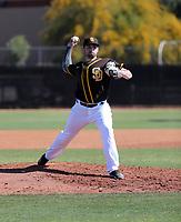 Brandon Komar - San Diego Padres 2020 spring training (Bill Mitchell)