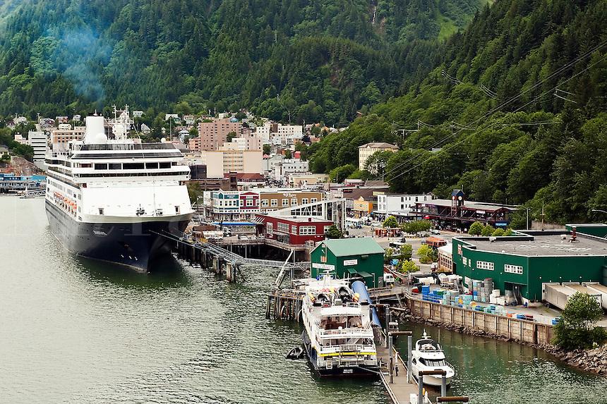 Downtown, Junaeau, Alaska, USA
