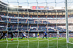Cristiano Ronaldo of Real Madrid shoots and scores the team's first goal during the La Liga 2017-18 match between Real Madrid and Deportivo Alaves at Santiago Bernabeu Stadium on February 24 2018 in Madrid, Spain. Photo by Diego Souto / Power Sport Images