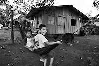 Niños jugando, Jaque, Panama
