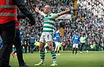 31.03.2019 Celtic v Rangers: Scott Brown at FT
