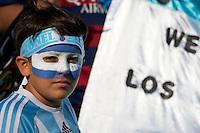 Photo before the match Argentina vs Chile corresponding to the Final of America Cup Centenary 2016, at MetLife Stadium.<br /> <br /> Foto previo al partido Argentina vs Chile cprresponidente a la Final de la Copa America Centenario USA 2016 en el Estadio MetLife , en la foto:Fans de Chile<br /> <br /> <br /> 26/06/2016/MEXSPORT/OSVALDO AGUILAR
