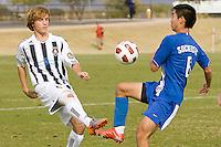 2010 US Soccer Development Academy Winter Showcase U15/16 North Meck SC vs Sockers FC at Reach 11 Soccer Complex in Phoenix, Arizona in December of  2010.