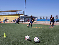 Alex Shinsky training before the 2009 CONCACAF Under-17 Championship From April 21-May 2 in Tijuana, Mexico