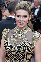 """FRA: """"THE BFG"""" Red Carpet- The 69th Annual Cannes Film Festival - Carly Steel, attend """"THE BFG"""". Red Carpet during The 69th Annual Cannes Film Festival on May 14, 2016 in Cannes, France."""
