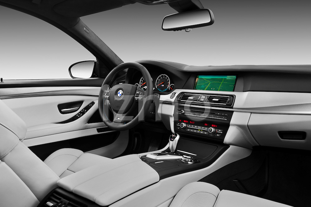 Straight dashboard view of a .