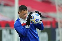 3rd July 2021; Arena da Baixada, Curitiba, Brazil; Brazilian Serie A, Athletico Paranaense versus Fortaleza; Felipe Alves of Fortaleza during warm-up