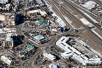Aerial of Avon, Colorado. Oct 2012