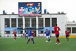 St Johnstone v FC Minsk...01.08.13 Europa League Qualifier at Neman Stadium, Grodno, Belarus...<br /> Steven MacLean in action in the Neman Stadium<br /> Picture by Graeme Hart.<br /> Copyright Perthshire Picture Agency<br /> Tel: 01738 623350  Mobile: 07990 594431