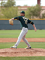 Casey Meisner - Oakland Athletics 2018 spring training (Bill Mitchell)