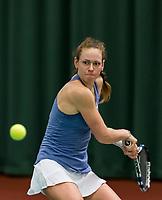 Wateringen, The Netherlands, March 16, 2018,  De Rhijenhof , NOJK 14/18 years, Nat. Junior Tennis Champ. Stephanie Visscher (NED)<br />  Photo: www.tennisimages.com/Henk Koster