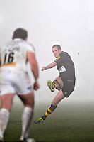 Photo: Tony Oudot/Richard Lane Photography. London Wasps v Exeter Chiefs. Aviva Premiership. 05/12/2010. .Dave Walder kicks for Wasps..