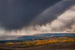 Autumn Storm over Highway 12, Boulder Mountain, Utah