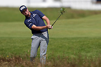 15th July 2021; Royal St Georges Golf Club, Sandwich, Kent, England; The Open Championship, PGA Tour, European Tour Golf,  First Round ; Harris English (USA) plays from heavy rough on the 1st hole