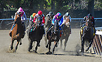 September 27, 2014: Vyjack, ridden by Irad Ortiz, Jr., wins the Kelso Handicap on Jockey Club Gold Cup Day at Belmont Park Race Track in Elmont, New York. John Voorhees/ESW/CSM
