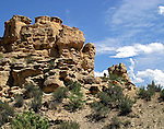 Some of the unique rock formations to be found in the western Colorado landscape.