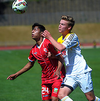 141123 ASB Premiership Football - Wellington Phoenix v Waitakere United