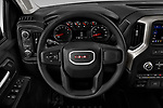 Car pictures of steering wheel view of a 2020 GMC Sierra-2500HD - 4 Door Pick-up Steering Wheel
