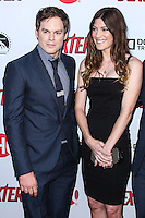HOLLYWOOD, CA - JUNE 15: Michael C. Hall and Jennifer Carpenter arrive at the premiere screening of Showtime's 'Dexter' Season 8 at Milk Studios on June 15, 2013 in Hollywood, California. (Photo by Celebrity Monitor)