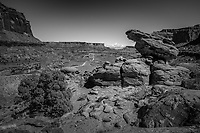 Shafer Canyon in Island in the Sky part of Canyonlands National Park, Utah