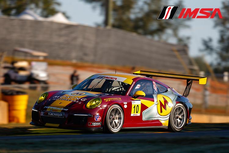 IMSA Porsche GT3 Cup Challenge USA<br /> Road Atlanta<br /> Road Atlanta, Braselton GA<br /> Thursday 5 October 2017<br /> 10, Frank Raso, GT3G, USA, 2016 Porsche 991<br /> World Copyright: Jake Galstad<br /> LAT Images