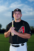 AZL Diamondbacks Buddy Kennedy (43) poses for a photo before a game against the AZL Padres 2 on August 29, 2017 at Salt River Fields at Talking Stick in Scottsdale, Arizona. AZL Diamondbacks defeated the AZL Padres 2 4-3. (Zachary Lucy/Four Seam Images)