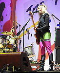 The Ting Tings open up for Pink during her Funhouse Tour held at The Staples Center in Los Angeles, California on September 18,2009                                                                   Copyright 2009 DVS / RockinExposures