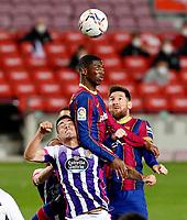 2021.04.05 La Liga FC Barcelona VS Real Valladolid