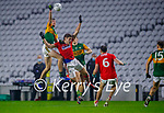 Diarmuid O'Connor, Kerry in action against Ian MaGuire, Cork, during the Munster GAA Football Senior Championship Semi-Final match between Cork and Kerry at Páirc Uí Chaoimh in Cork.