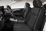 Front seat view of2014 Nissan Sentra SV 4 Door Sedan Front Seat car photos