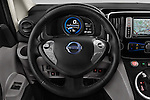 Car pictures of steering wheel view of a 2016 Nissan E-Nv200-Evalia Connect-Edition 5 Door Mini MPV Steering Wheel