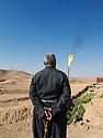 Iraq 2011.On the oil field of Western Zagros in Germian.Irak 2011.Le champ de petrole de Western Zagros dans la region de Germian