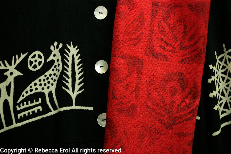 Yazma: traditional textile prints in Istanbul, Turkey, by Veliye Ozdemir Marti