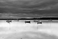 The River Findhorn, Findhorn Bay, Findhorn, Moray