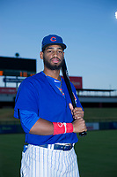 AZL Cubs Jonathan Sierra (22) poses for a photo before a game against the AZL Angels on August 31, 2017 at Sloan Park in Mesa, Arizona. AZL Cubs defeated the AZL Angels 9-2. (Zachary Lucy/Four Seam Images)