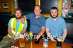 Enjoying the evening in Turners Bar on Friday, l to r: Paddy Hayes and Erskene O'Connor and Ethan Byrne.