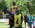 July 24,2020:Dylan Davis on Party in the Sand on Quick Call day at Saratoga Race Course in Saratoga Springs, New York. Rob Simmons/Eclipse Sportswire/CSM