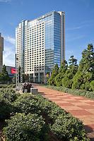 The Omni Hotel in downtown Atlanta