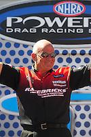 Apr. 13, 2008; Las Vegas, NV, USA: NHRA funny car driver Gary Densham during the SummitRacing.com Nationals at The Strip in Las Vegas. Mandatory Credit: Mark J. Rebilas-