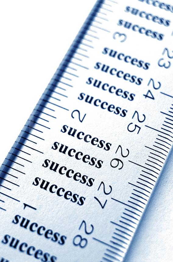 Measure of success.