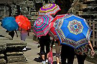 Tourist at Angkor Wat, Siem Reap Cambodia