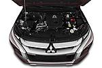 Car Stock 2020 Mitsubishi L200 Intense 4 Door Pick-up Engine  high angle detail view